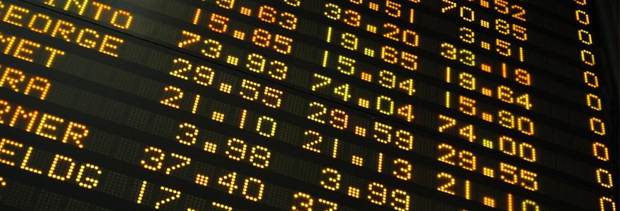 actions boursières